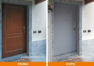 Installazione Porta blindata in PVC Lecco
