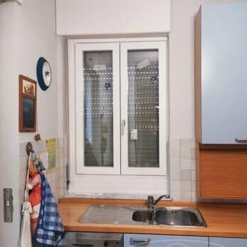 La nuova finestra della cucina
