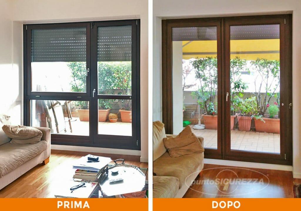 Punto Sicurezza Casa - Installazione Serramenti PVC blindati a Monza