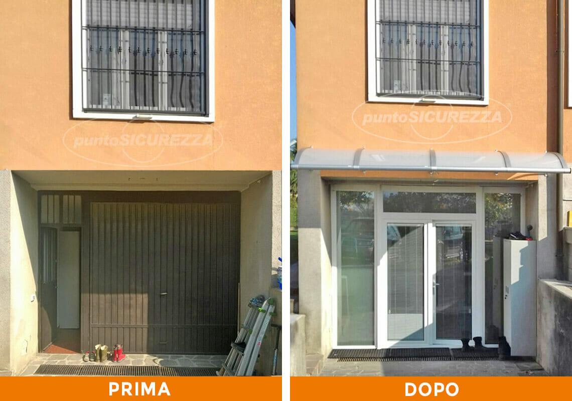 Installazione Serramenti e pensilina a Monza