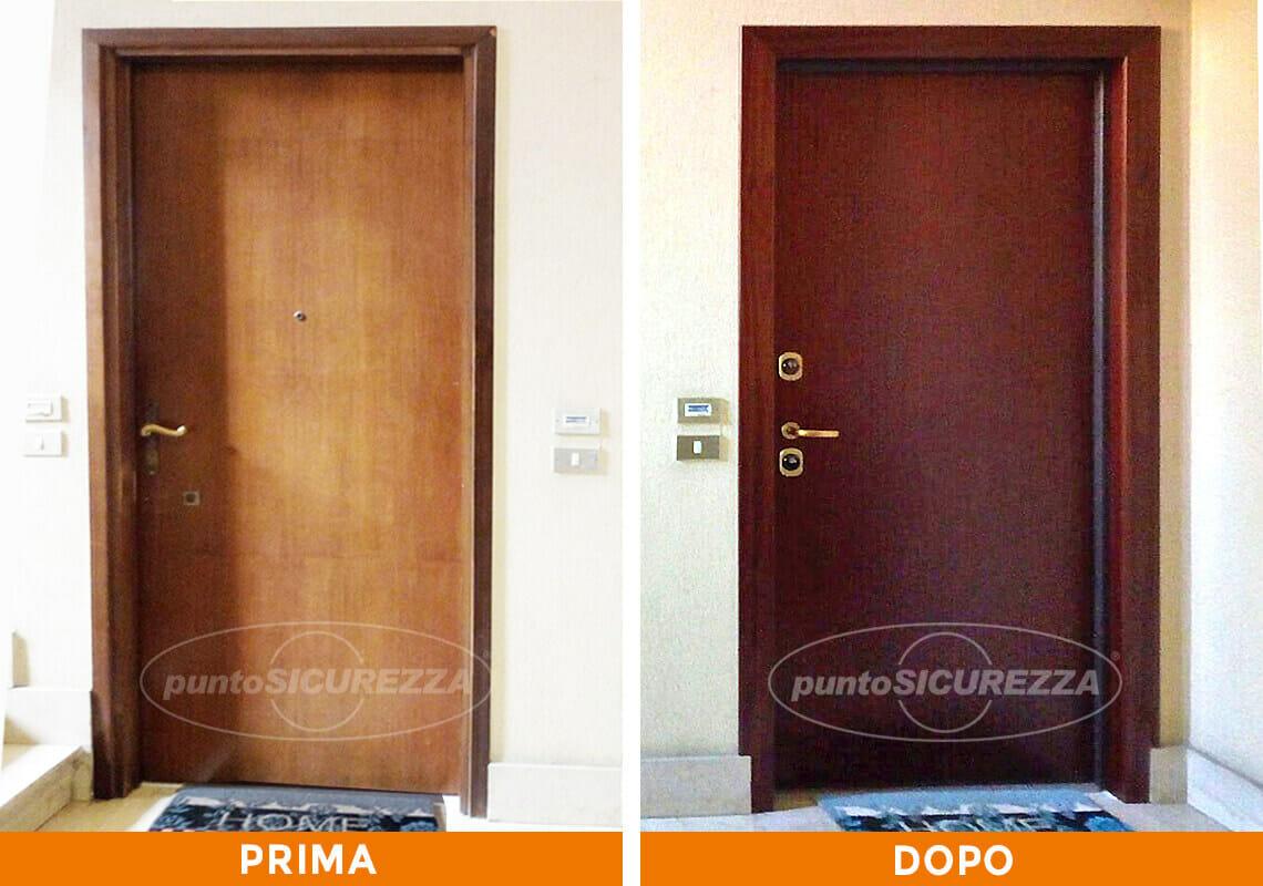 Installazione Porta e Grata snodata a Lecco