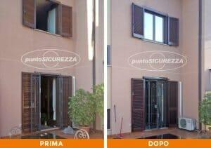 Installazione Persiane alluminio marrone Monza